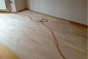 renovatie bestaande maple vloer